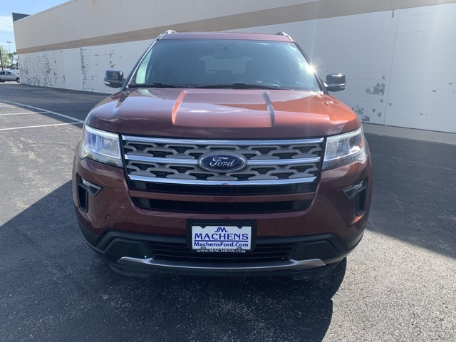 Pre-Owned 2018 Ford Explorer XLT 4WD 4D Sport Utility